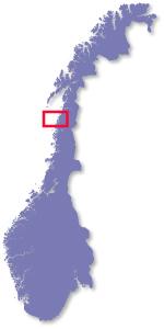 Kart Mel 248 Y Skarsvatnet Camping 45 Km Fra Svartisen Og